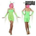 BGB Carnival Maskeraadi kostüüm täiskasvanutele Seksikas tulnukas Roheline (4 Pcs) Suurus M/L