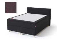 Sleepwell kontinentaalvoodi BLACK CONTINENTAL AIR-POCKET, 160x200cm, punakaspruun, pehme/pehmem