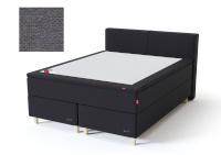 Sleepwell kontinentaalvoodi BLACK CONTINENTAL AIR-POCKET, 180x200cm, tumehall, pehmem