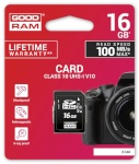 Goodram mälukaart SD card 16GB CL10 UHS-I
