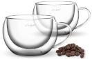 Lamart boorsilikaadist cappuccino tassid LT9012 VASO 2 tk