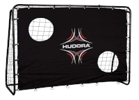 Hudora jalgpallivärav Trainer with Goal Wall 2.13x1.52m (76922)