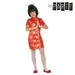 Maskeraadi kostüüm lastele Hiinlanna Punane Suurus 5-6 aastat