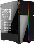 AeroCool korpus w/o PSU PLAYA RGB TEMPERED GLASS -