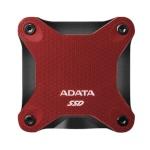 ADATA External SSD SD600Q 480 GB, USB 3.1, punane