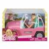 Mattel komplekt Barbie Jeep + 2 Dolls