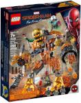 LEGO klotsid Super Heroes Spider-Man Molten Man Battle 76128