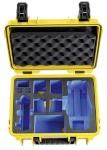 B&W kohver Copter Case Type 3000 Y kollane with DJI Mavic 2 Inlay