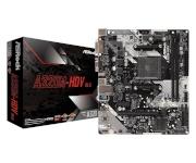 ASRock emaplaat A320M-HDV R4.0 AM4 2DDR4 DSUB/DVI/HDMI/m.2 mATX