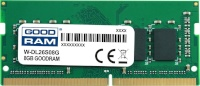 Goodram mälu GOODRAM DDR4 SO-DIMM 8GB 2666MHz CL19 DELL