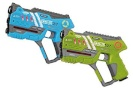 Jamara mängurelvade komplekt Impulse Laser Gun - Pistol Set, sinine/roheline