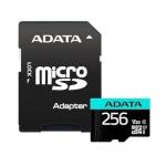 ADATA mälukaart 256GB Premier Pro MICROSDXC + Adapter
