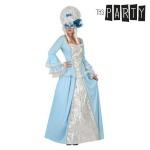 Maskeraadi kostüüm täiskasvanutele Kurtisaanlanna Sinine Suurus M/L