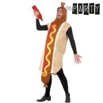 Maskeraadi kostüüm täiskasvanutele Th3 Party 5343 Hot dog