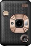 Fujifilm polaroid kaamera Instax Mini LiPlay, Elegant Black, must/kuldne