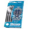 Harrows nooled Steeltip Black Arrows 22g
