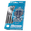 Harrows nooled Steeltip Black Arrows 25g
