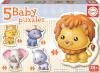 Educa beebipusle Baby Puzzles 3+3+4+4+5 osaline (loomad)