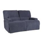 H4Y Diivan MARCUS 2-kohaline elektriline recliner 160x99xH96,5cm, kattematerjal: kangas, värvus: hallikassinine
