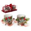 BGB Christmas dekoratsioon (2 pcs) Kristall