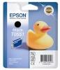 Epson tindikassett T0551 must