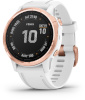 Garmin pulsikell fenix 6S Pro Rose Gold with White Band