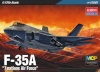 Academy Plastic model F-35A 7 Nations Air Force
