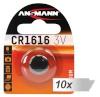 Ansmann patarei 10x1 CR 1616