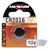 Ansmann patarei 10x1 CR 2016