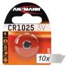Ansmann patarei 10x1 CR 1025