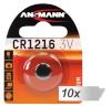 Ansmann patarei 10x1 CR 1216