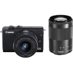 Canon EOS M200 + EF-M 15-45mm + 55-200mm IS STM must