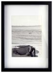 Nielsen Design pildiraam Aura must 21x29,7 Holz + Passepartout 1121000