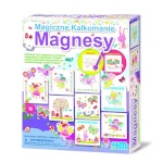 4M magic Kalkomianie Magnesy