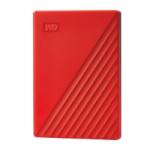 Western Digital kõvaketas My Passport 2TB punane