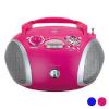 Grundig Raadio-CD-MP3-mängija Grundig GDP6310 CD-R/CD-RW FM USB 3W Värvus Roosa