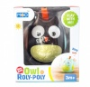 Askato beebide mänguasi Roly Poly Owl must