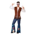 Maskeraadi kostüüm täiskasvanutele 110077 Hippie Suurus M/L