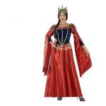 Maskeraadi kostüüm täiskasvanutele 113916 Keskaja kuninganna Suurus XXL