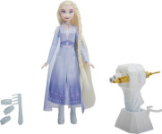 Hasbro Doll Frozen 2 with curling iron Elsa
