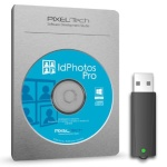 Pixel-Tech IdPhotos Pro Software on Dongle