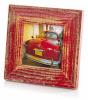 Bad Disain pildiraam 10x10 3,5cm, punane