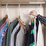 InnovaGoods riidepuude hoidja Hanger Organiser 40 riidepuu jaoks (24-osaline)