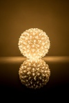 Ball with Flowers RS-209 100LED D-14cm Warm White