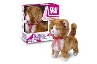 Artyk liikuv mänguasi kassipoeg, Walking Kitty Edu&Fun ginger/punane