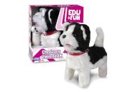 Artyk liikuv mänguasi väike koer, Walking Dog Edu&Fun valge-must