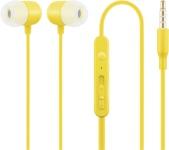 ACME kõrvaklapid HE21Y In Ear Headphones with Microphone kollane