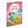 Alexander liivaga värvimise komplekt Sand Coloring Book Fairy, Flowers