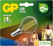 Gp Batteries LED-lambipirn FlameSwitch E14 4W (40W) 470 lm GP 085379