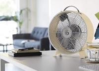 Swan ventilaator Fan Retro Clock, beež